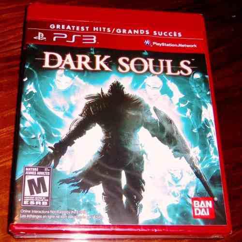 Videojuego dark souls greatest hits ps3 físico nuevo