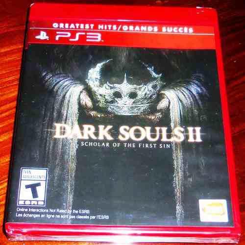 Videojuego dark souls ii scholar of the first sin ps3 nuevo