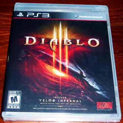 Videojuego diablo iii edición estándar ps3 físico sellado