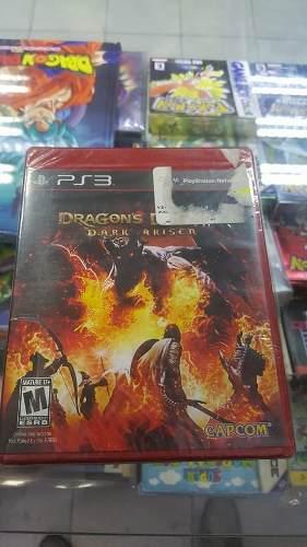 Videojuego dragon's dogma dark arisen **para ps3** sellado