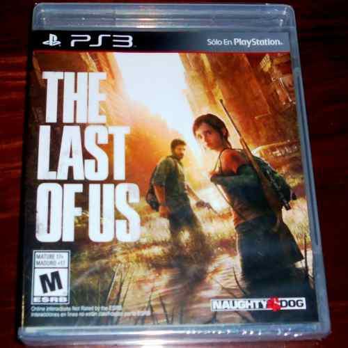 Videojuego the last of us ps3 físico nuevo sellado