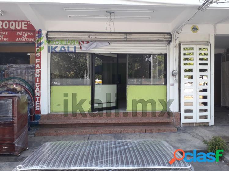 Renta Local Comercial 56.8 m² Col. Cazones Poza Rica Veracruz, Cazones