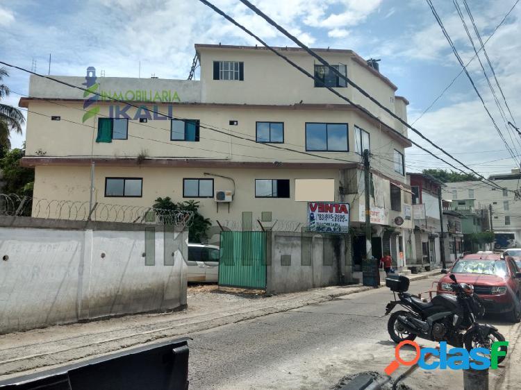 Venta Edificio 4 plantas 500 m² Centro Tuxpan Veracruz, Tuxpan de Rodriguez Cano Centro