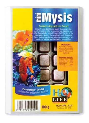 Alimento Congelado Mini Mysis Marino V2o
