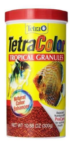 Alimento peces tetracolor 300grs acuarios granulos te16262