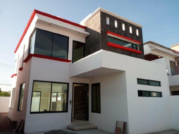 Casa equipada en preventa de 4 recamaras y 4 baños en gran