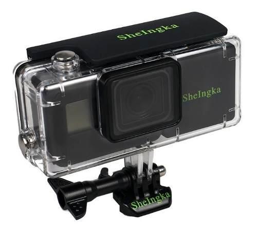 Carcasa con batería externa sumergible gopro hero 5, 6 y 7