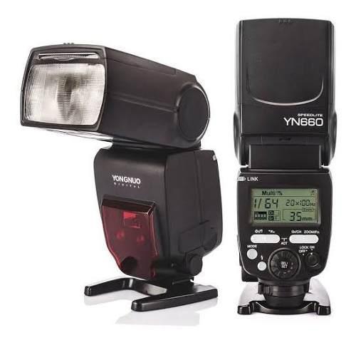 Flash Yongnuo Yn660 Con Receptor Integrado Modo Maestro