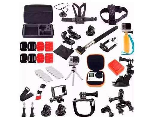 Kit 36 accesorios para camara deportiva envio gratis!