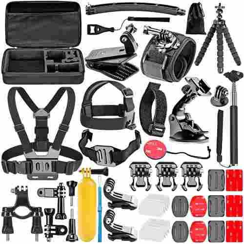 Kit 50 en 1 accesorios camara gopro hero 1 2 3 4 *50 piezas*