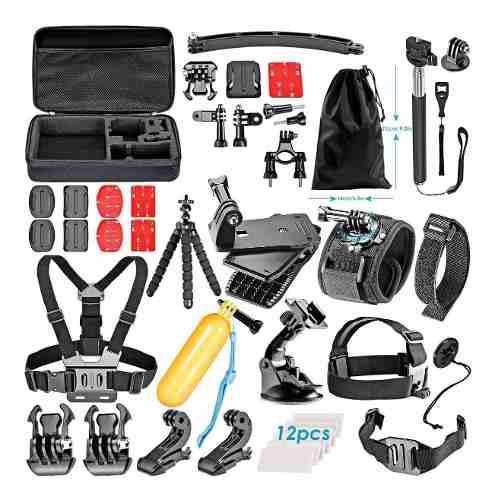 Kit completo de accesorios para camara gopro hero 1 2 3 3+ 4