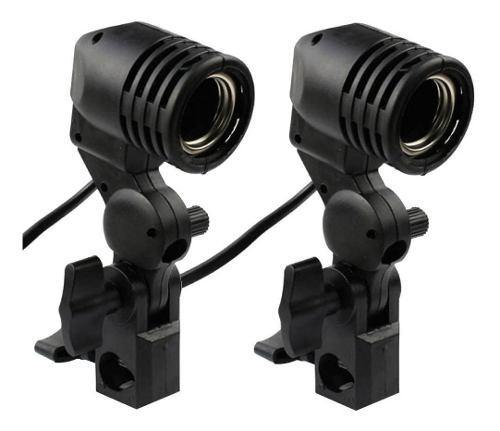 Soquet 2 piezas para foco sombrilla stand fotografia y video