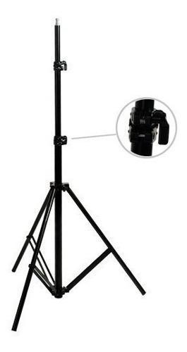 Stand ó tripie para flash 2.7 metros robusto carga 8kg msi