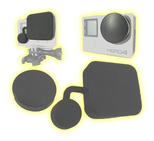 Tapas lente carcasa y cámara gopro hero 4 3+ lcd full