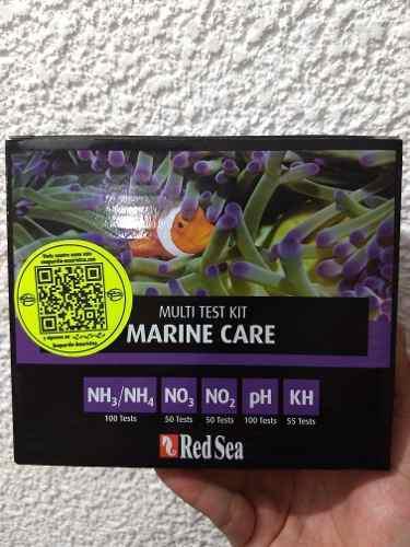 Test kit marine care red sea pruebas de agua acuario marino