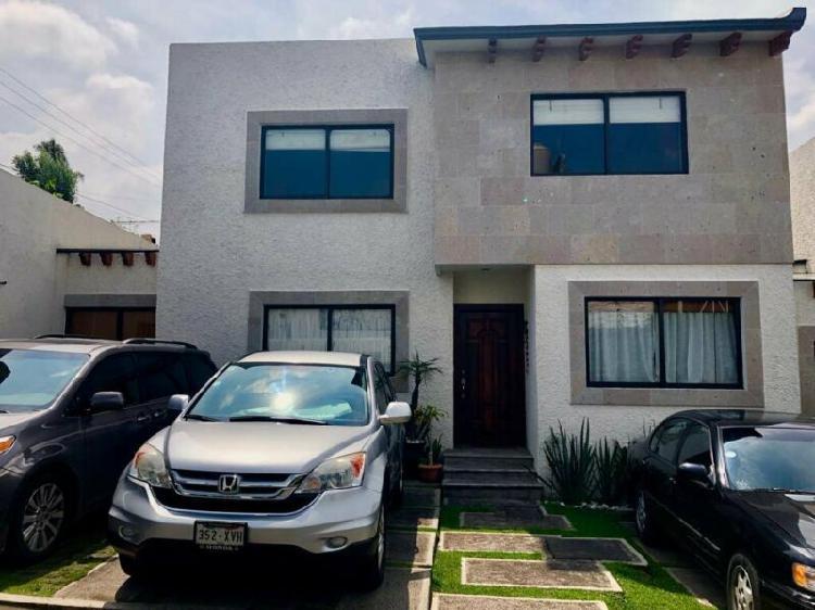 Venta de casa en condominio horizontal en san jeronimo