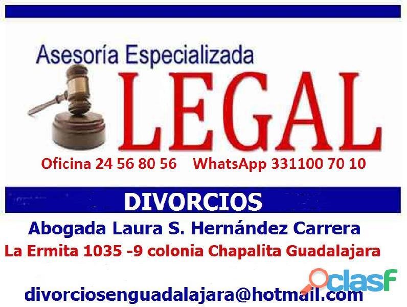 Abogada de divorcio en Guadalajara|La solución a sus problemas conyugales