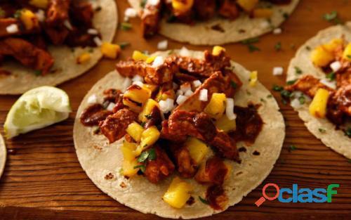 Tacos al pastor a domicilio para tus eventos fiestas y reuniones queretaro