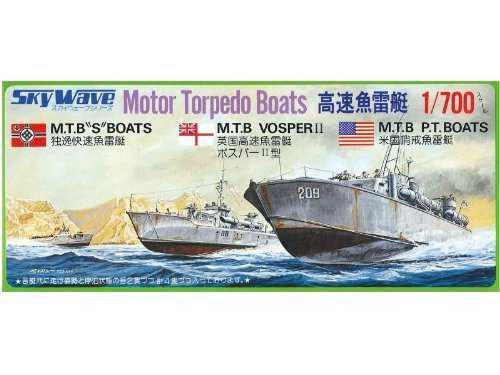 1700modelo De Barco De Torpedos De Alta Velocidad
