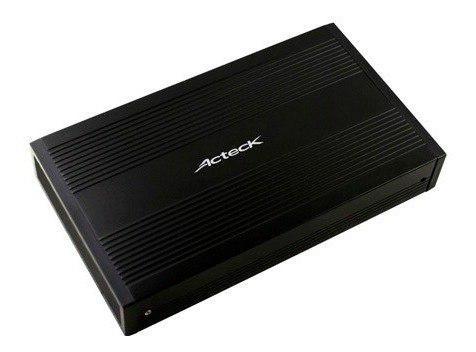 Gabinete case externo disco duro sata 3.5 usb 3.0 negro
