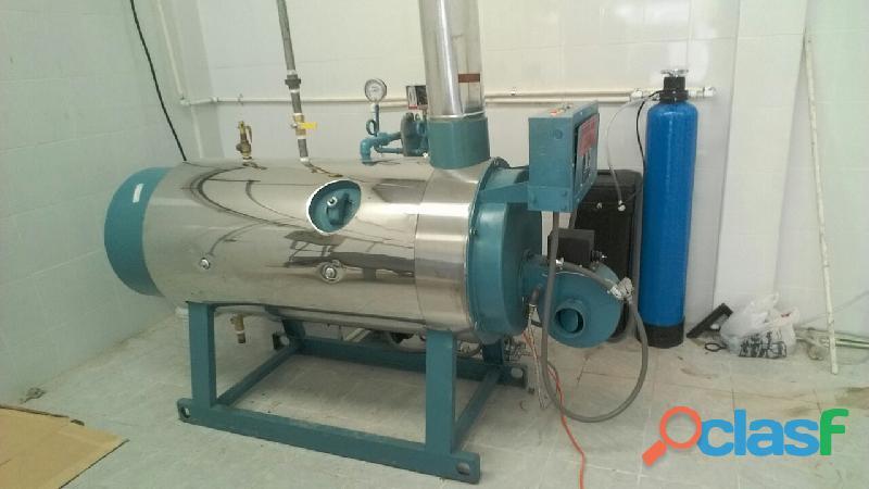 Caldera nueva para lavanderias industriales de 15 hp