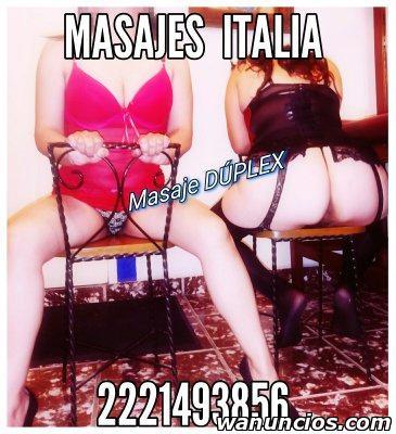MASAJES ERÓTICOS ITALIA, UN MUNDO DE PLACENTERAS