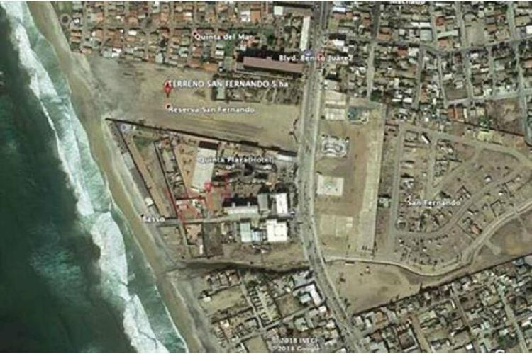 Terreno comercial / residencial frente al mar en playas de