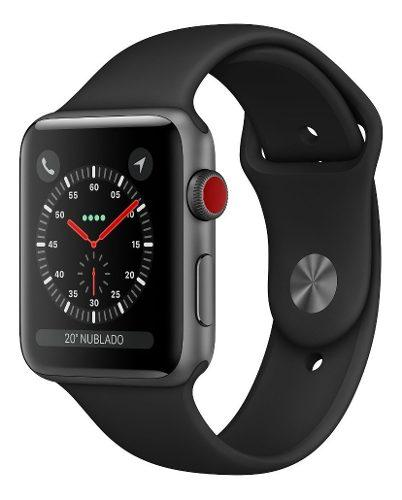 Apple watch series 3 gps celular 38mm agua oferta exhibicion
