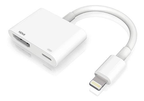 Cable de luz / av hdmi compatible con iphone ipad ipod nano