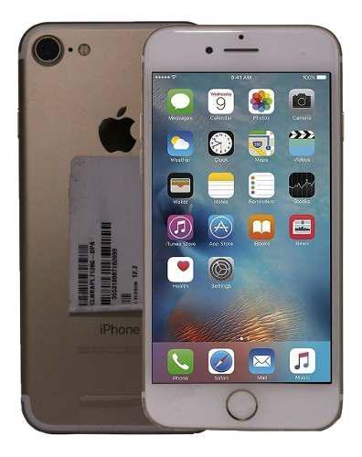 Celular iphone 7 128gb -ios 12 video 4k liberado oro