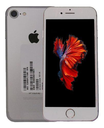Celular iphone 7 128gb -ios 12 video 4k liberado plata