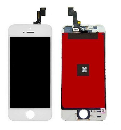 Display iphone se, pantalla lcd y touch screen cristal