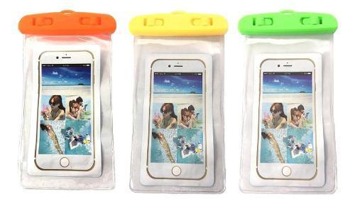 Funda contra agua universal celulares iphone sumergible