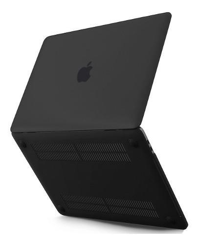 Funda macbook pro 13 - a1708 a1989 + mica + cubre teclado