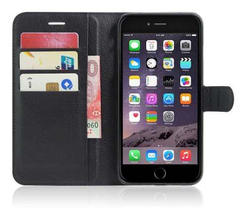 Funda tipo cartera flip para apple iphone 7 plus 8 plus