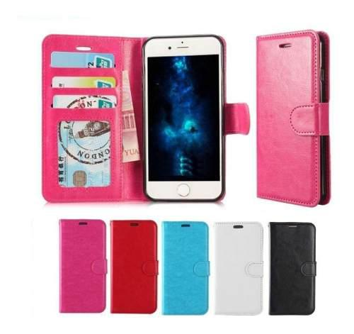 Funda tipo cartera iphone 6 6s 7 8 plus x xs max xr colores