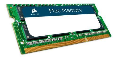 Memoria ram laptop ddr3 4gb mac apple 1333mhz sodimm corsair