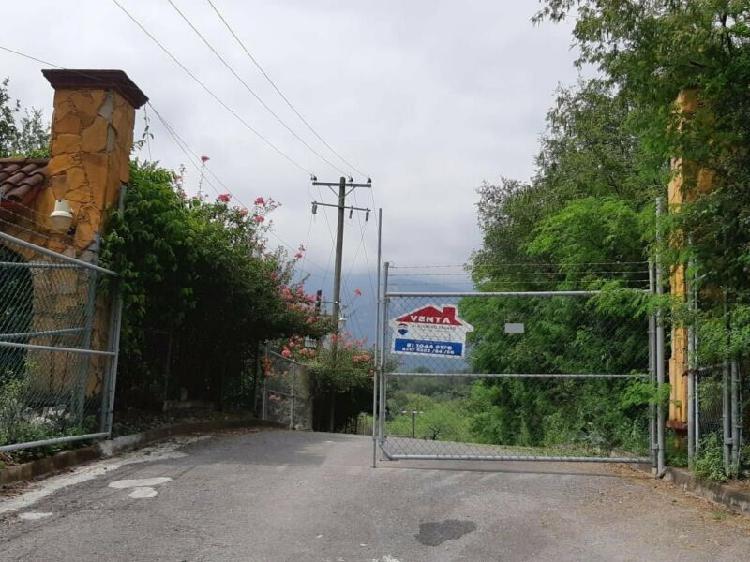 Terreno en venta en carretera nacional huajuquito los