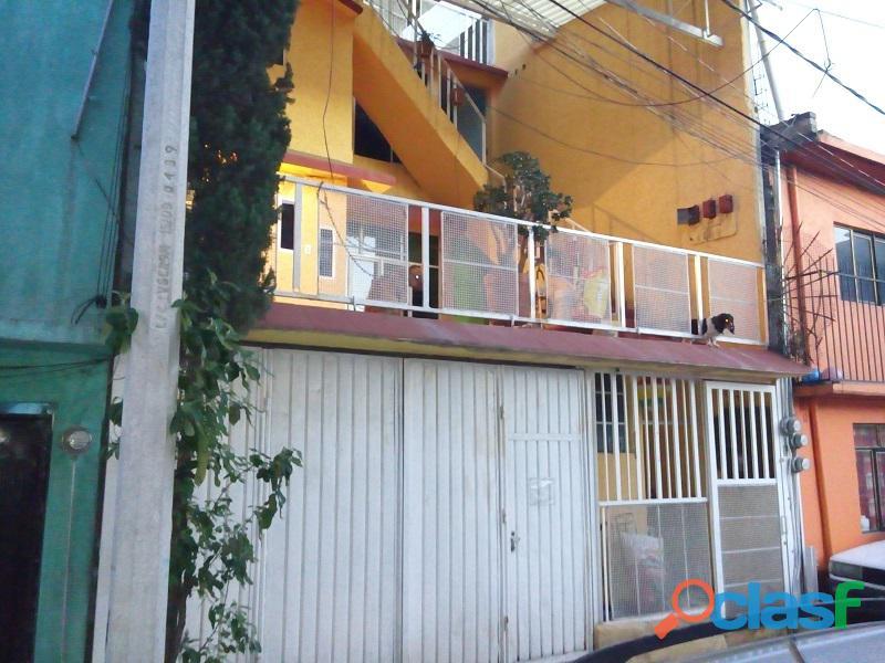 Casa en venta col. miguel hidalgo, ecatepec