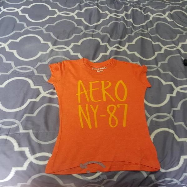 Lote camisas aeropostale de mujer