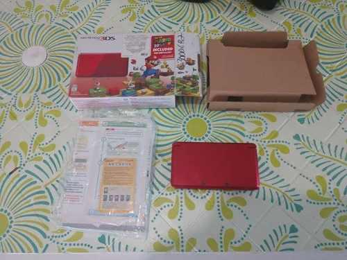 N3ds old flame red