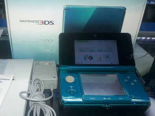 Nintendo 3ds modelo accua blue/donkey kong country