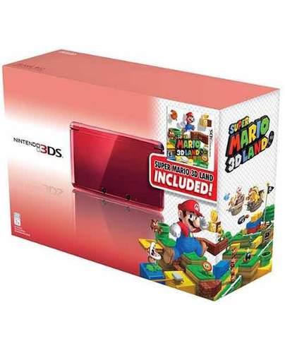 Nintendo 3ds usado más dos juegos y funda