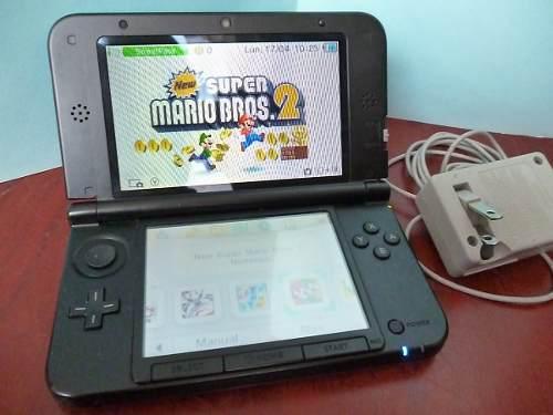 Nintendo 3ds xl. juegos en memoria 16gb mario kart smash