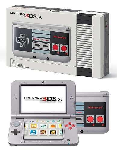 Nintendo 3ds xl nes edition coleccionable