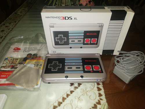 Nintendo 3ds xl. nes edition. con 5 juegos originales.
