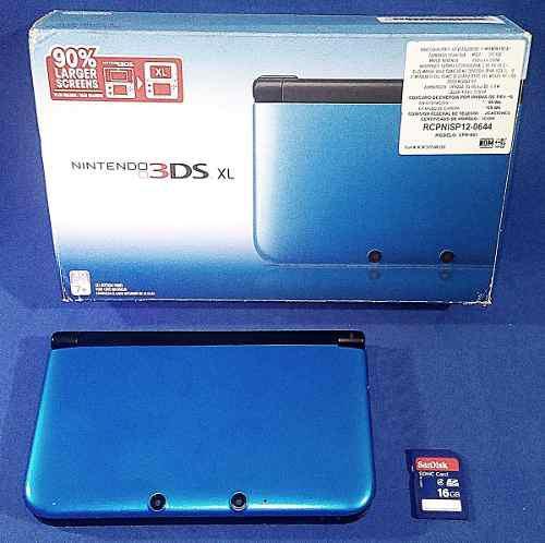 Nintendo 3ds xl seminuevo 16gb incluye juegos