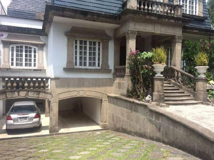 Se vende residencia en lomas de chapultepec /