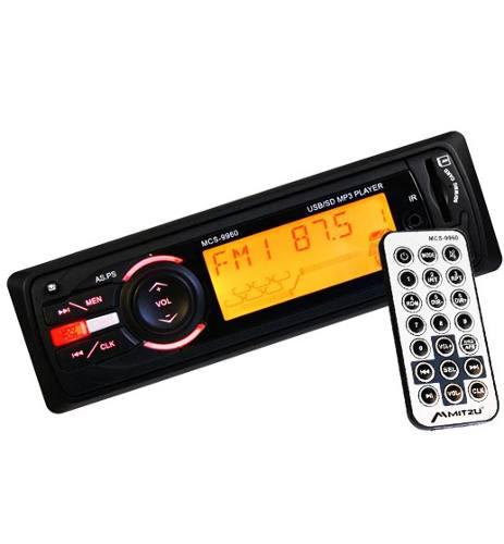 Car-audio: estereo pro 900w reales entrada usb sd auxiliar.!