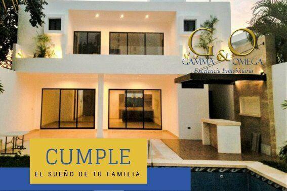 Casa nueva en venta en montes de amé, mérida, yucatán